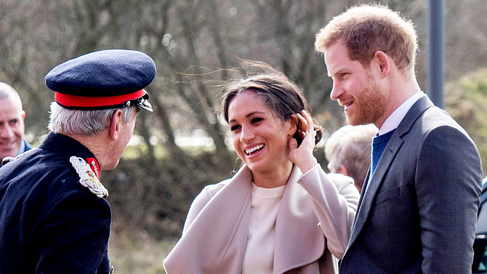Prince Harry and Meghan Markle in visit to Northern Ireland