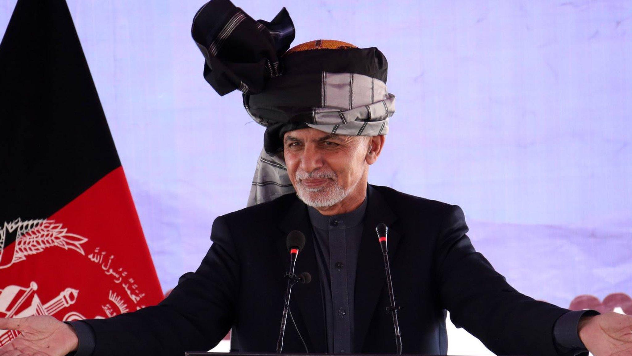 غني: طالبانو ته کابل، کندهار یا ننګرهار کې دفتر ورکولی شو