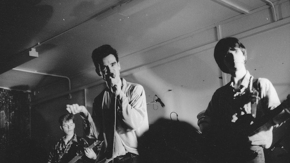 D Exhibition Manchester : Bbc news the smiths new photo exhibition at salford