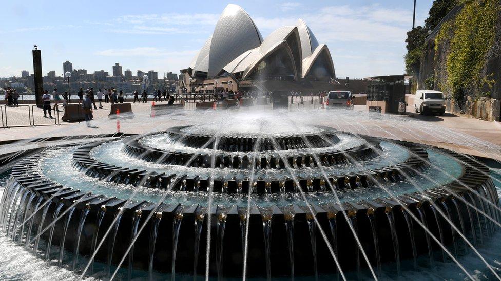 دار الأوبرا في سيدني بأستراليا