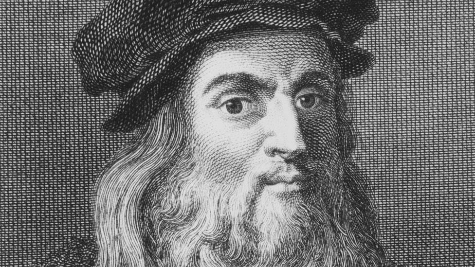 """El gran Leonardo da Vinci era un admirador del fraile y matemático Luca Pacioli, el """"padre"""" de la contabilidad de partida doble."""