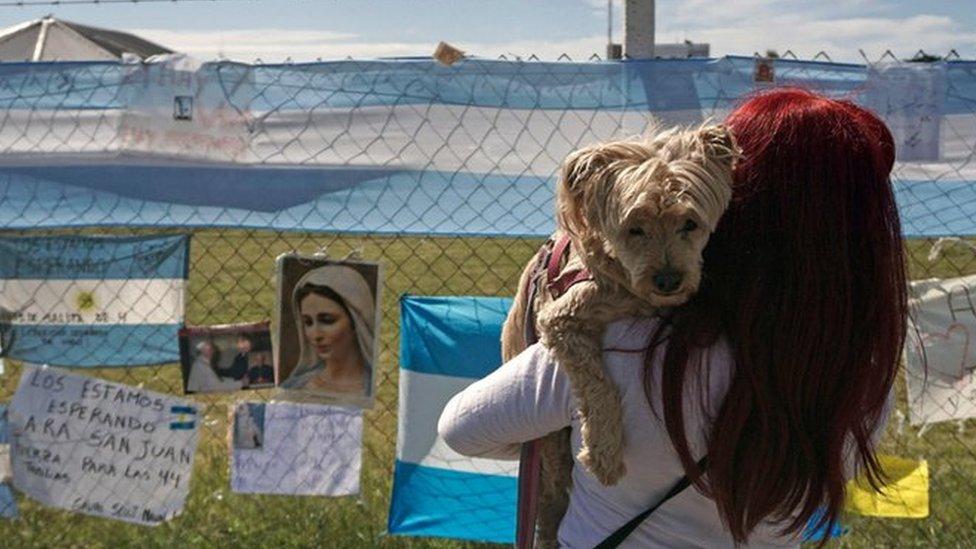 Missing Argentine submarine: 'Explosion' heard