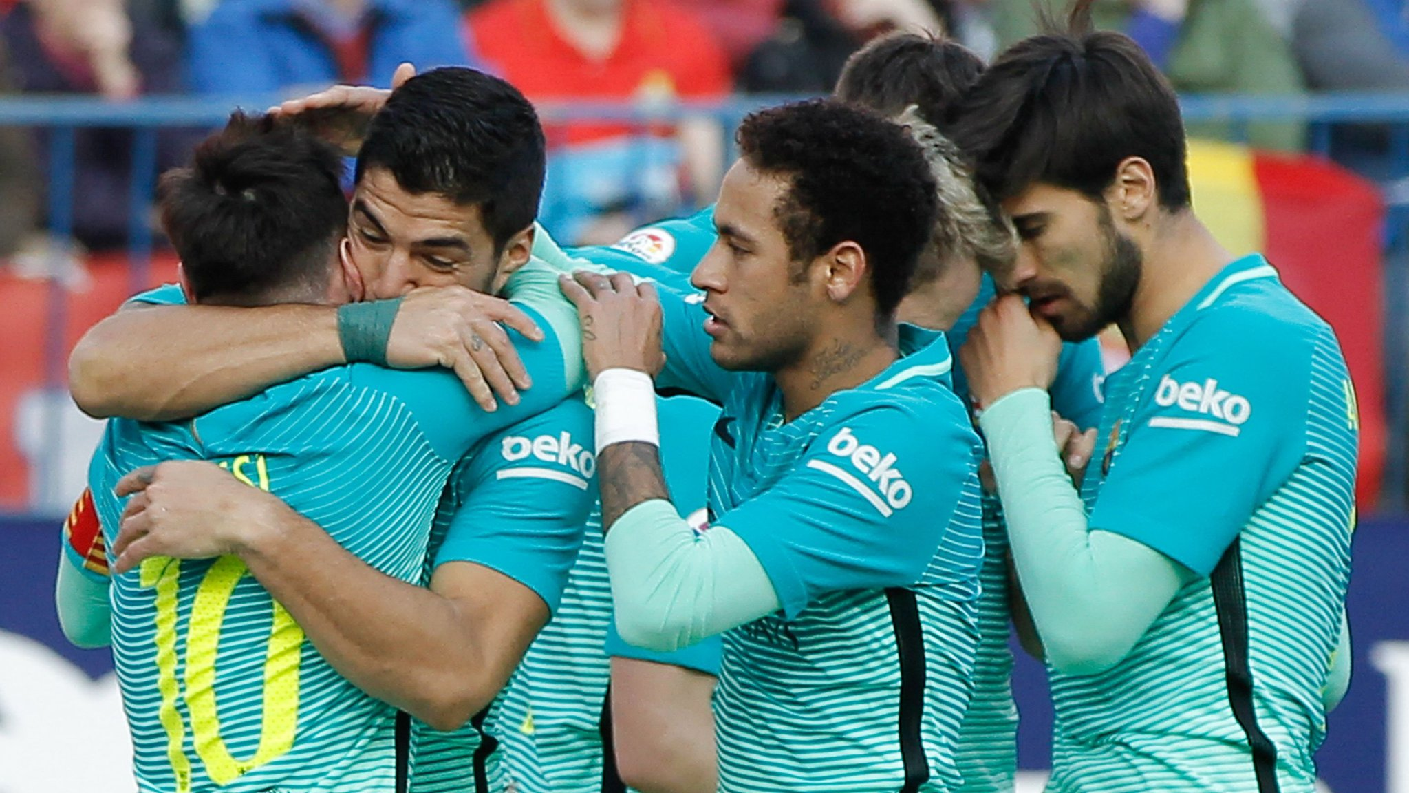 Late Messi goal seals win over Atletico Madrid