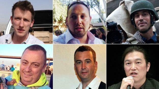 رهائن غربيون قتلوا في سوريا