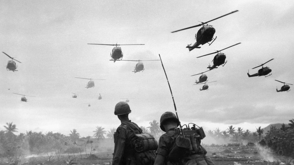 US troops during the Vietnam war