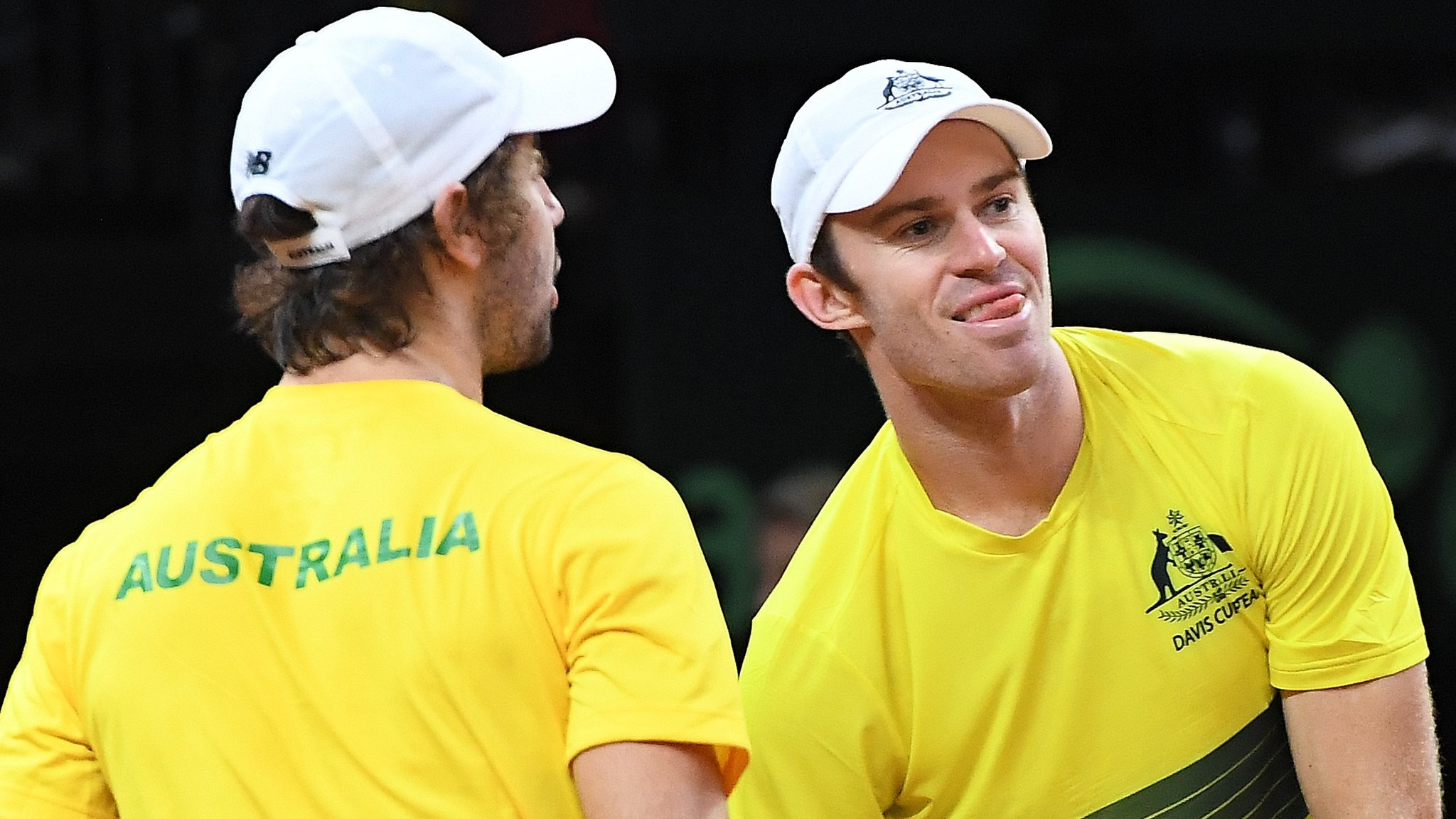 Davis Cup semi-finals: Australia and France lead after winning doubles