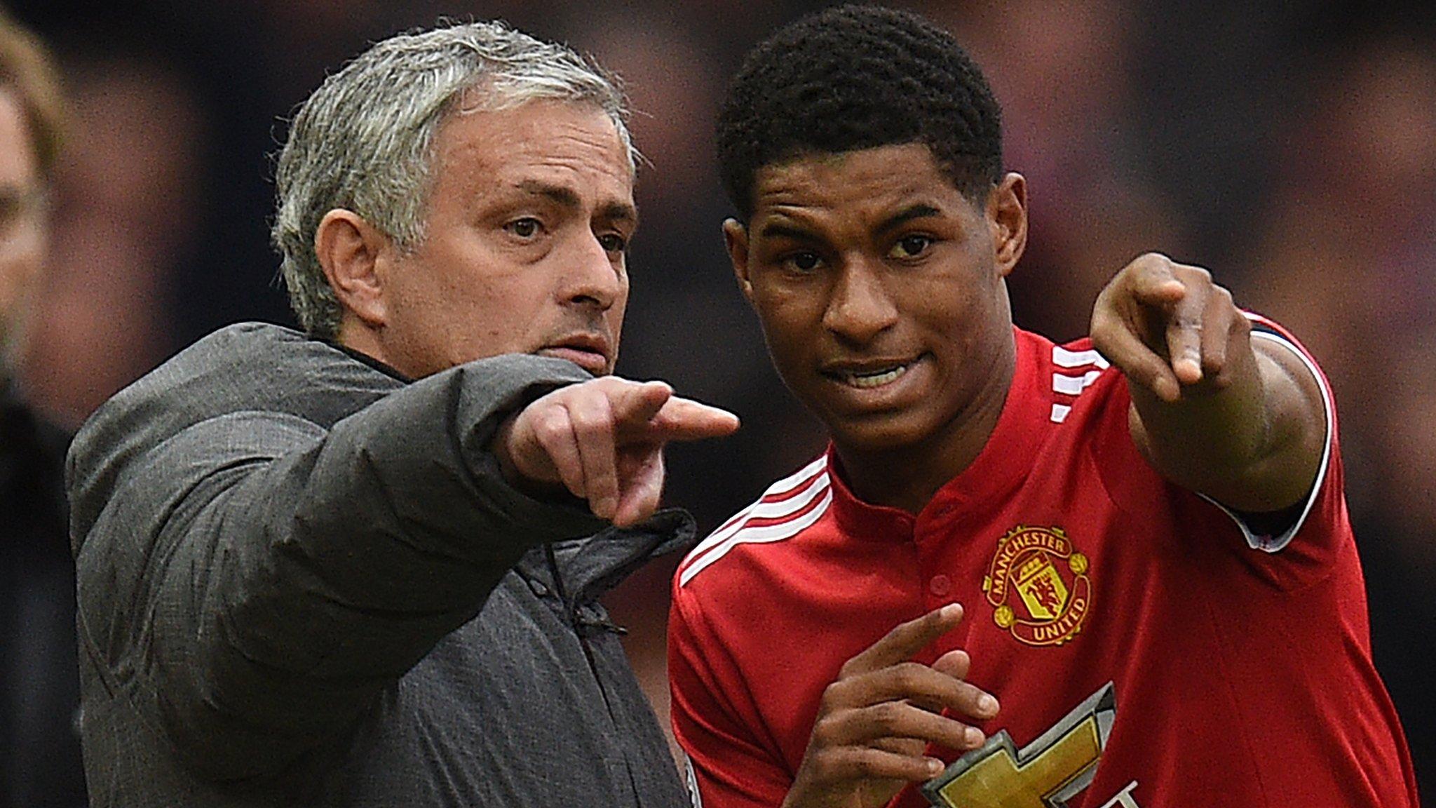 Mourinho defends Rashford's Man Utd playing time