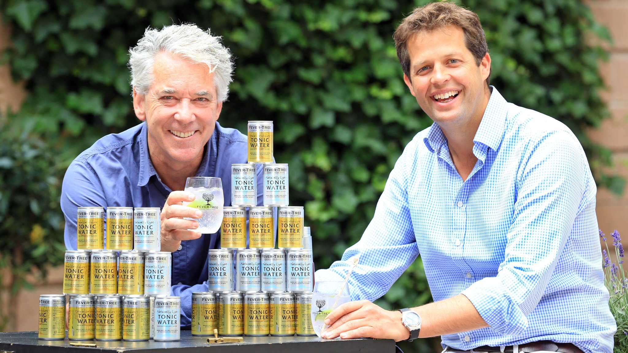 Fever-Tree founder toasts £73m share sale