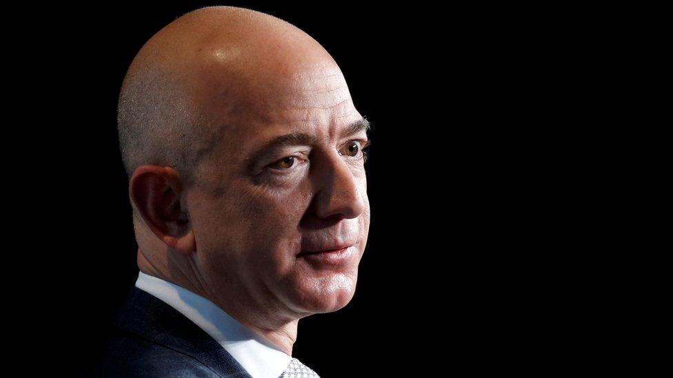 Jeff Bezos, director de Amazon