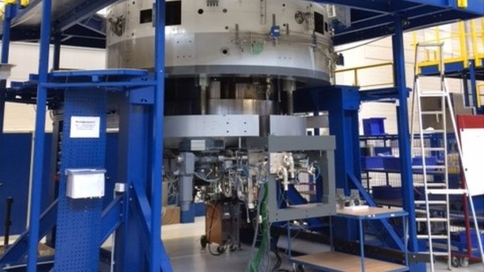 First NHS proton beam machine arrives at Christie hospital