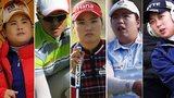 Inbee Park, Amy Yang, So Yeon Ryu, Shanshan Feng, Hy Joo Kim