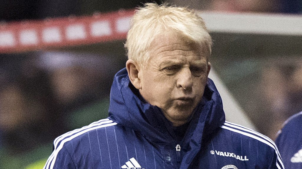 Rusty Scots' confidence rocked by poor start - Strachan
