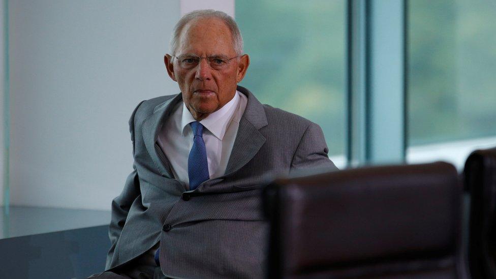 El ministro alemán de Finanzas, Wolfgang Schäuble, es un seguidor a ultranza de las tesis ordoliberales.