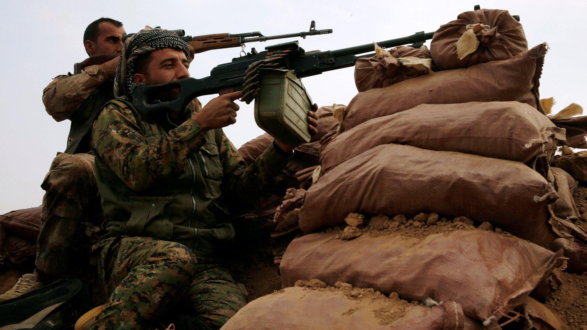 Mosul offensive: Iraqi Kurdish forces besiege key town of Bashiqa