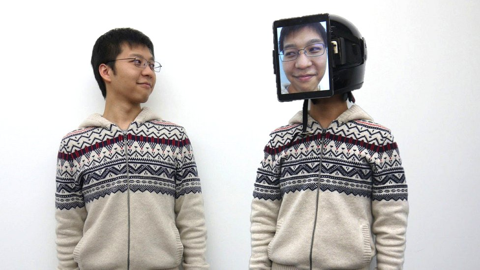 El japonés detrás de este invento dice que es un sistema nuevo de telepresencia. (Foto: Jun Rekimoto).