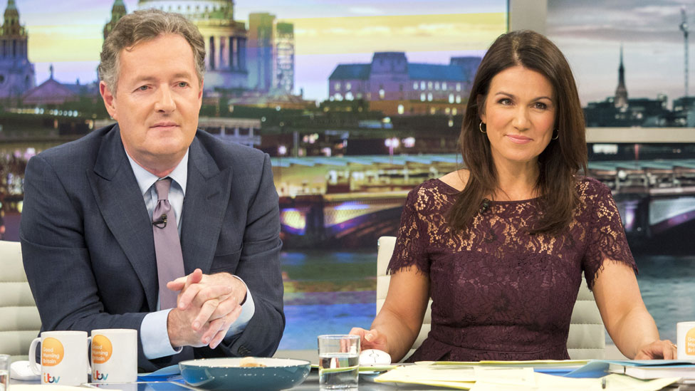 Susanna Reid in 'constant battle' with Piers Morgan