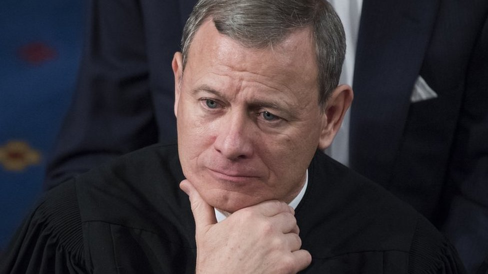 Chief Justice Roberts rebukes Trump's 'Obama judge' gibe
