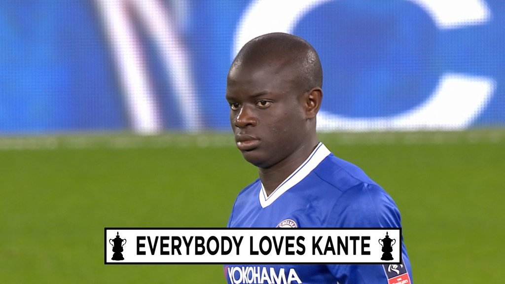 NGolo Kante: Pundits purr over Chelsea midfielder after FA Cup performance