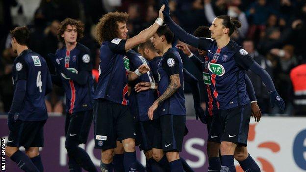 ไฮไลท์  Paris Saint Germain 2 - 0 Toulouse