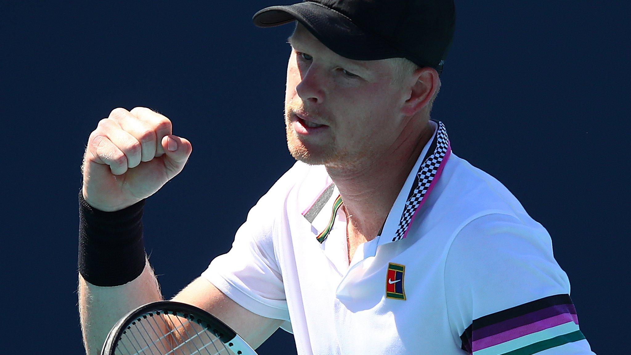 Miami Open: Kyle Edmund beats Ilya Ivashka to reach the third round