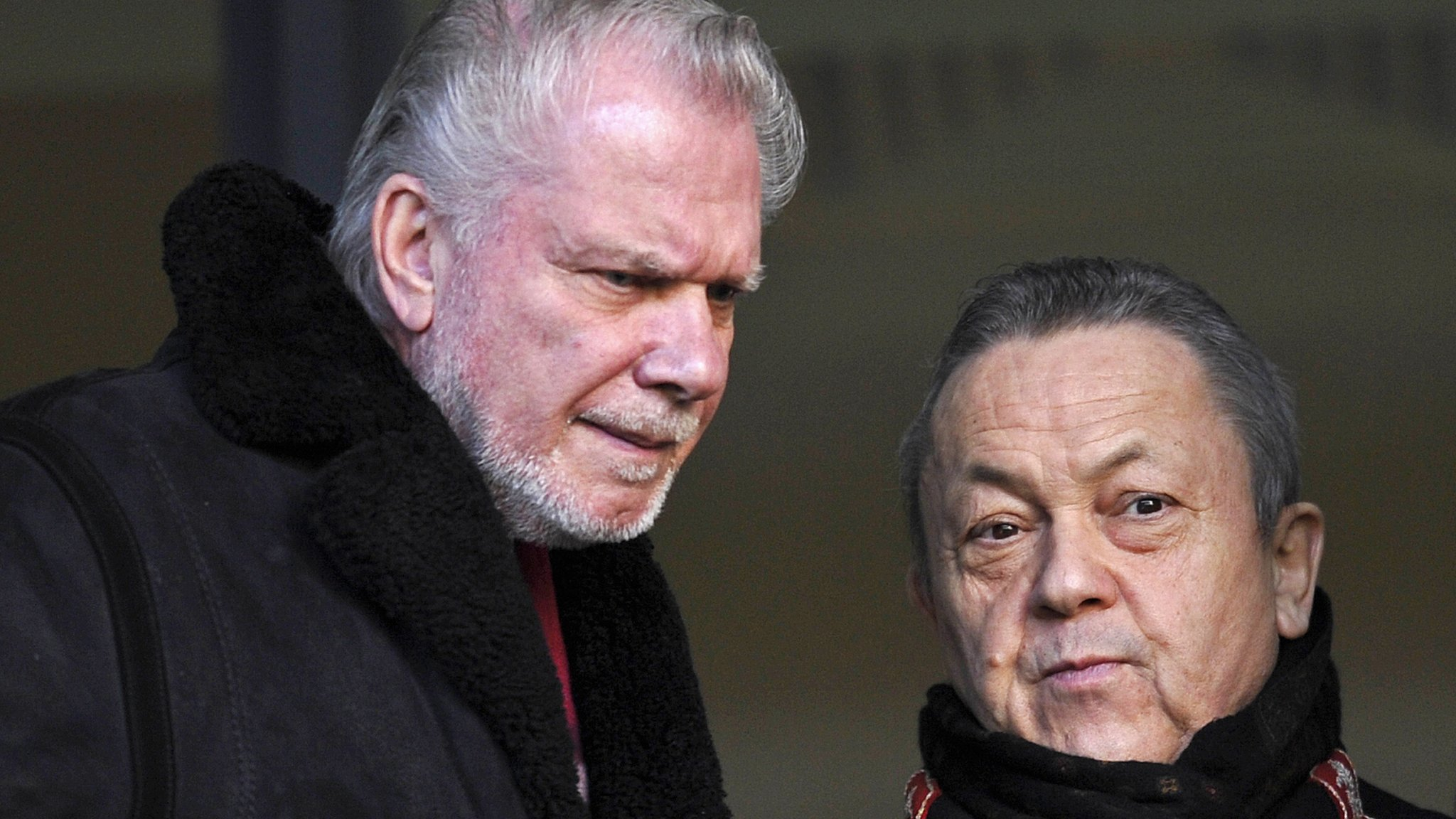 West Ham: David Gold & David Sullivan vow to turn things round at London Stadium
