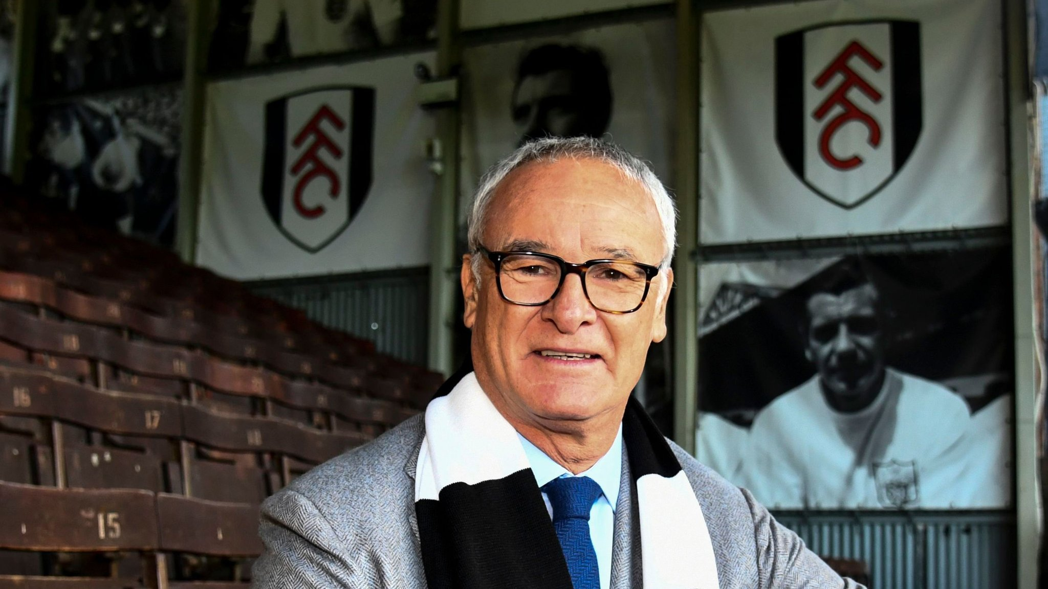 Claudio Ranieri: Fulham will never give up, says new manager