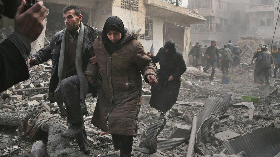Ghouta Timur, Suriah
