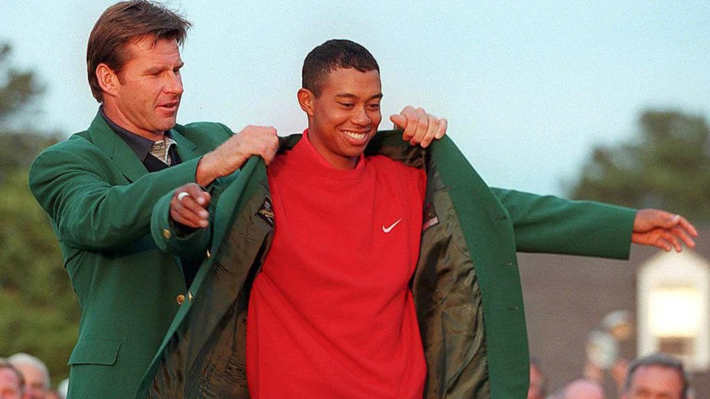 Tiger Woods: Reliving his incredible Masters win in 1997, aged just 21