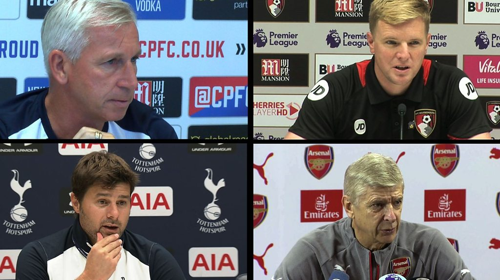 England manager: Wenger, Pochettino, Howe and Pardew on vacant position