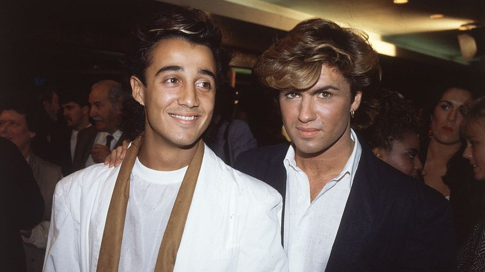 Andrew Ridgeley y George Michael.
