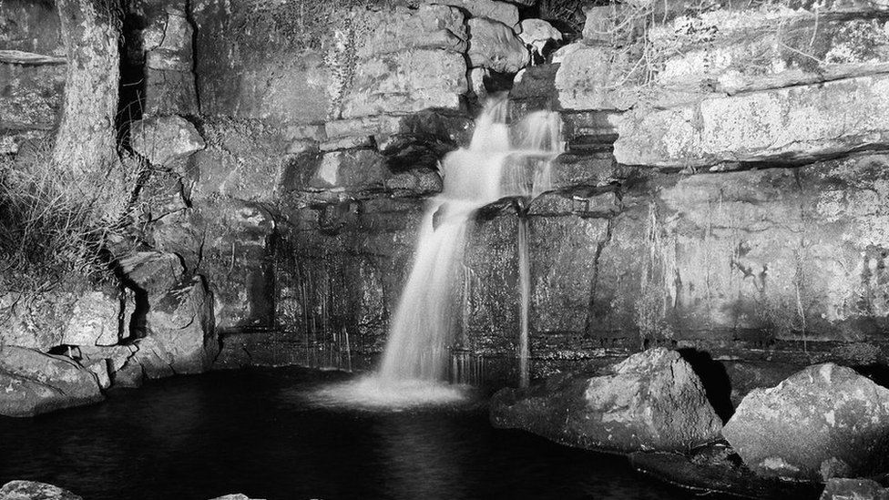 Waterfall images offer solace for photographer after family illness