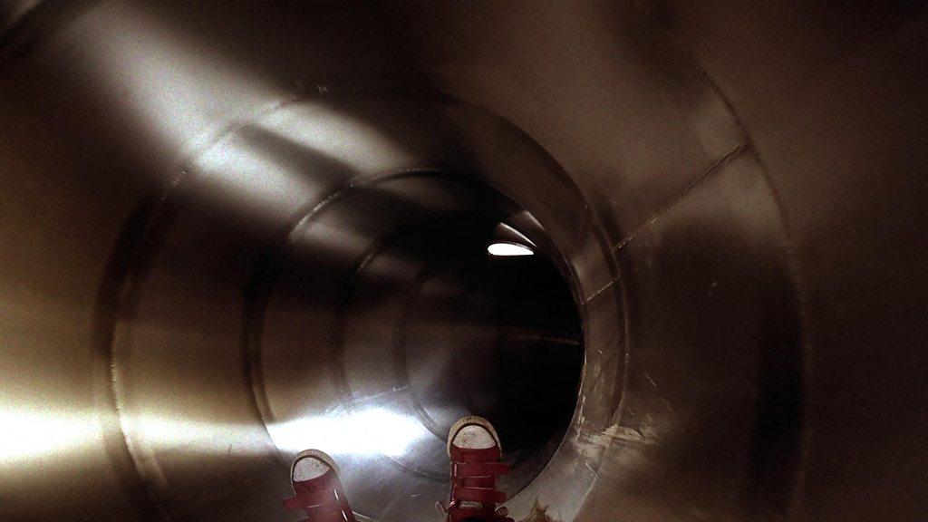 BBC News - Ed Sheeran: Giant slide at Framlingham Castle On The Hill