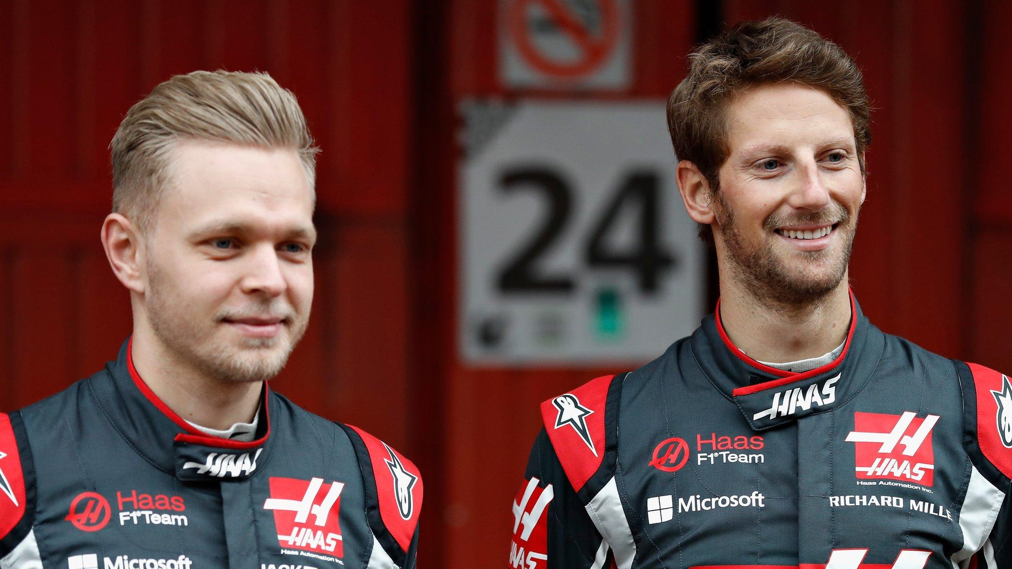 Grosjean & Magnussen to stay at Haas next season
