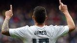 James Rodriguez celebrates
