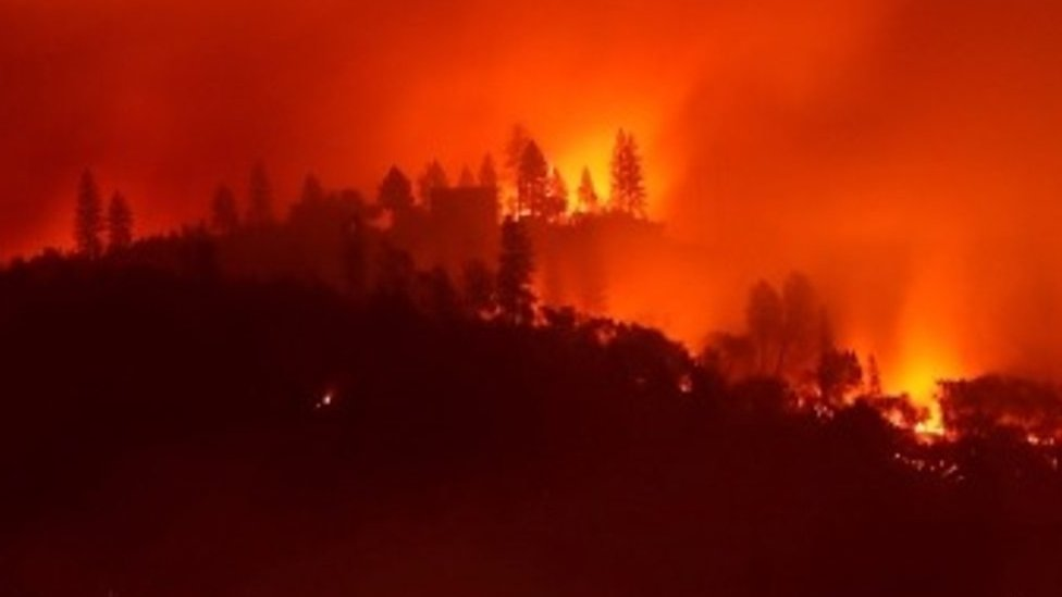 California wildfires: 'It was like an apocalyptic movie'