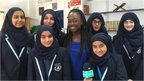 Ayshah speaks to young Muslim girls about Nadiya
