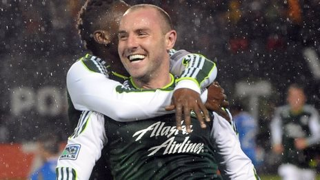 Kris Boyd played in the US with the Portland Timbers