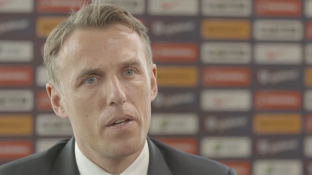 Phil Neville: England women manager denies being sexist