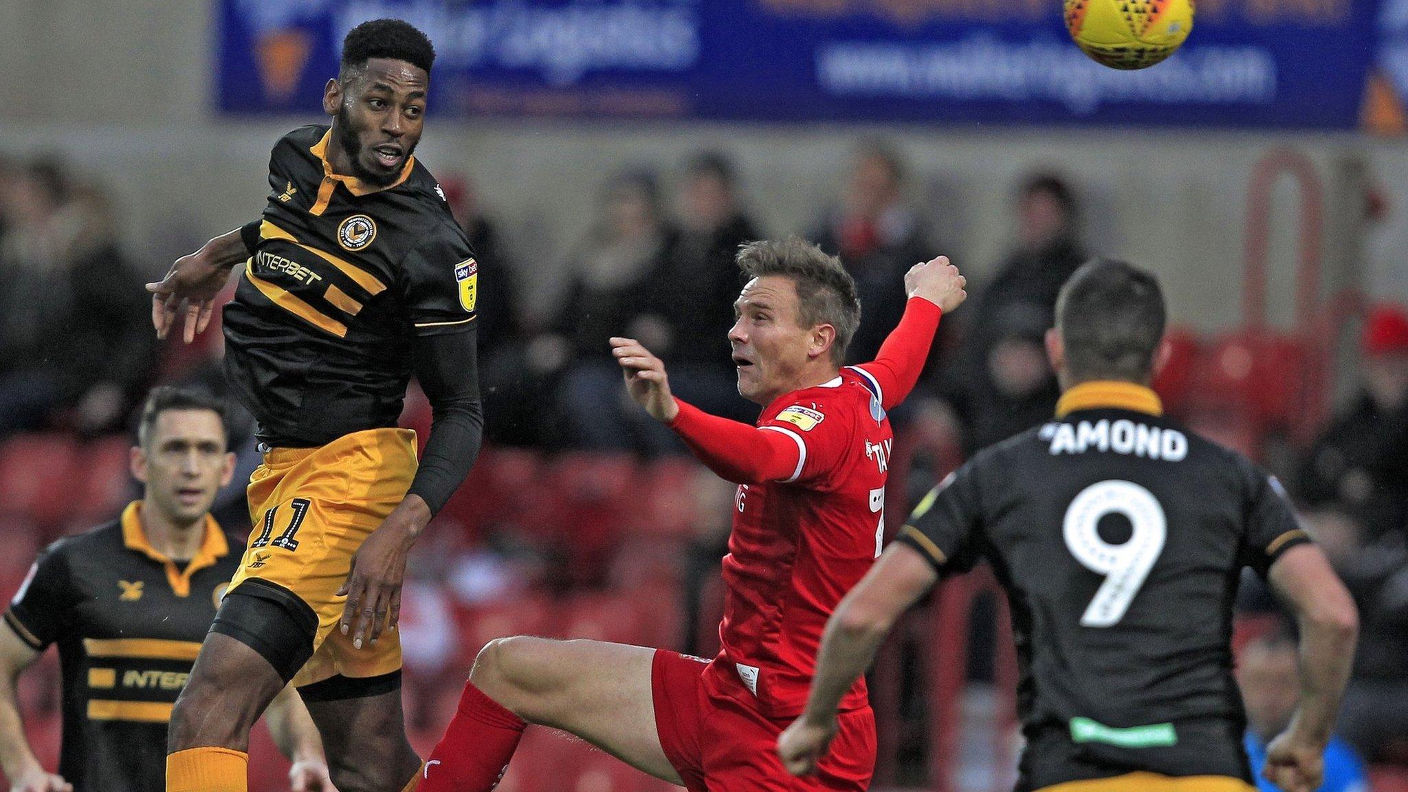 Late winner denies Newport a point at Swindon