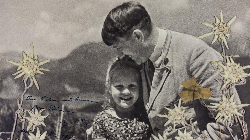 La poco conocida historia de la amistad entre Adolf Hitler y una niña de origen ...