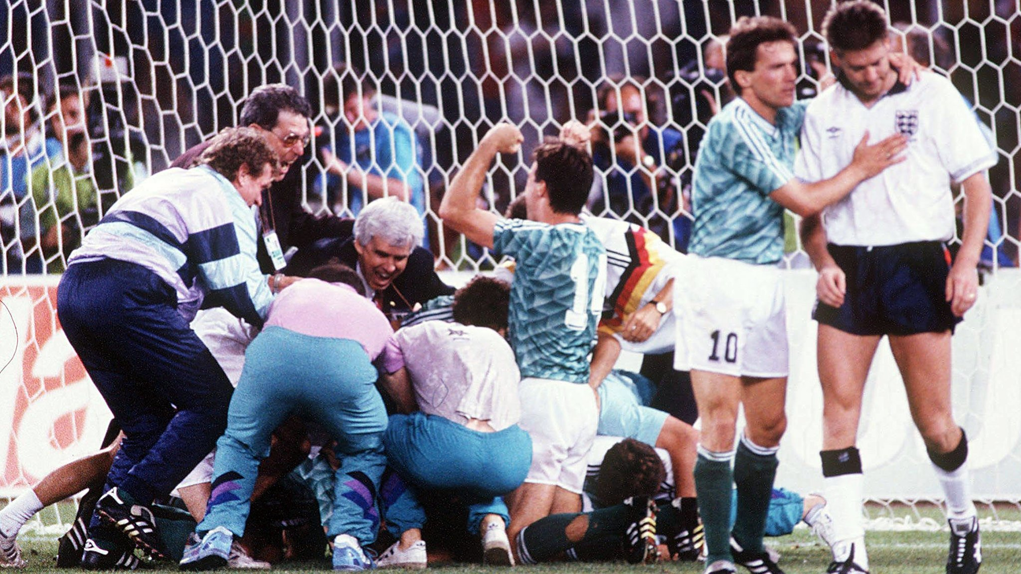 Gazza's tears & penalty heartache - relive West Germany v England semi-final from 1990