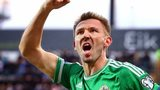 Gareth McAuley is a potential match-winner against Greece