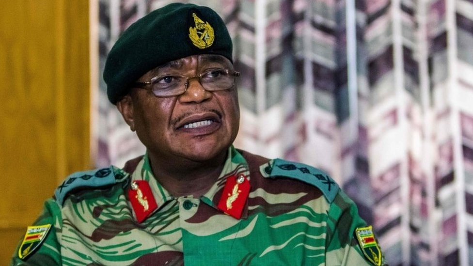 Gen Constantine Chiwenga: The army chief who took power from Mugabe
