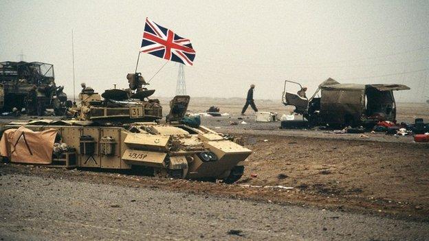 British forces in Kuwait
