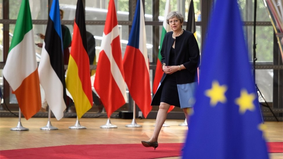 Brexit: May unveils 'fair and serious' offer on EU citizens