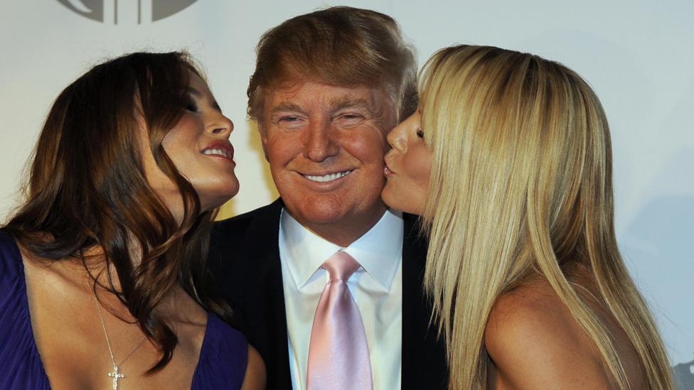 """Me sentí como un pedazo de carne en el mercado"""": así eran las fiestas  privadas de Donald Trump antes de llegar a la presidencia - BBC News Mundo"""