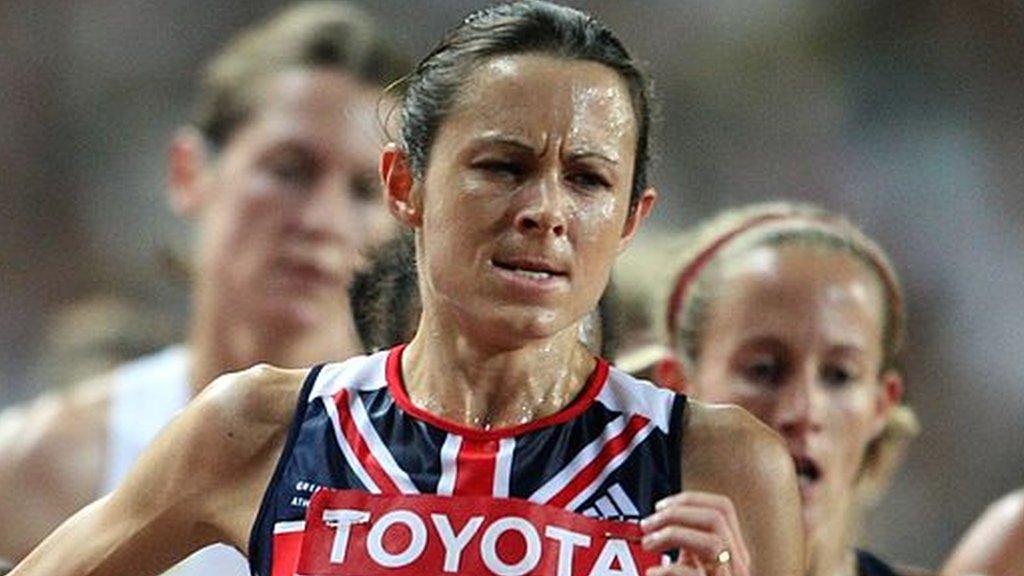 Jo Pavey: British athlete thrilled to receive 'bittersweet' 2007 bronze