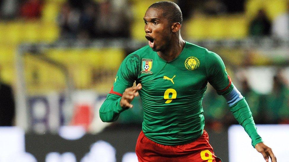 Cameroon: Footballer Samuel Eto'o rescue migrants from Libya? - BBC News  Pidgin