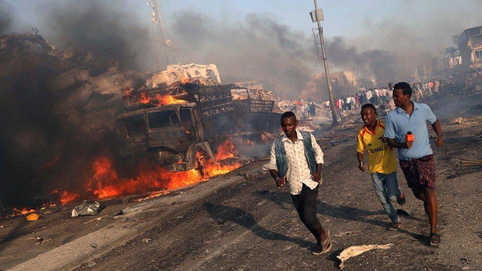 У Могадішо стався вибух біля готелю: щонайменше 30 загиблих