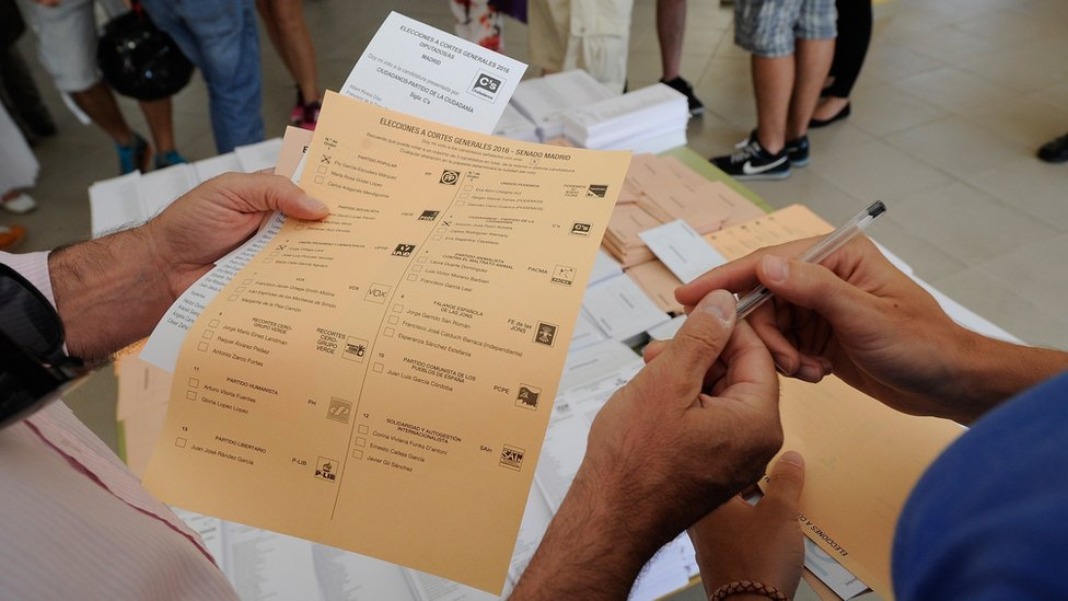 Spain election: PP short of a majority and Socialists second